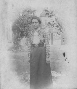 Margaret Rope, 1920s. Believed to have been taken in Salisbury