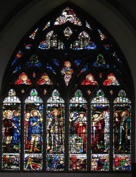 West Window Shrewsbury Cathedral