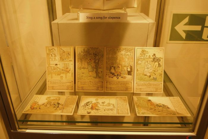 Display in Caldecott Room at Whitchurch 3