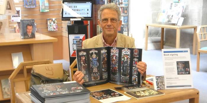 Arthur Rope at a book signing