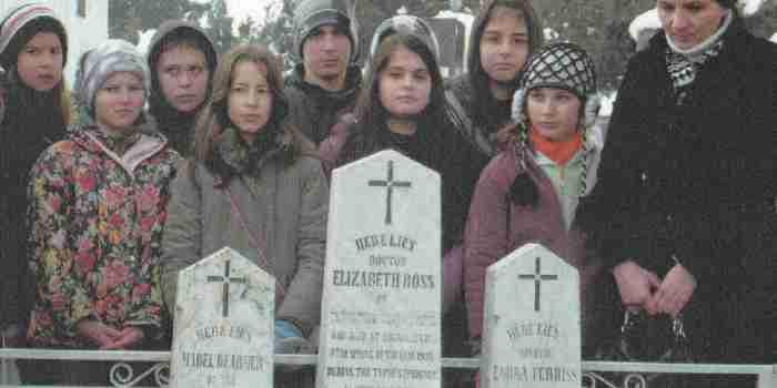 Commemoration of WW1 women volunteers who died in Serbia