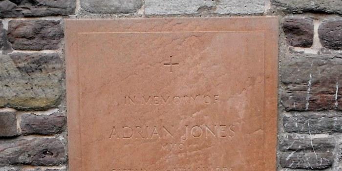 Adrian Jones Memorial at Ludlow