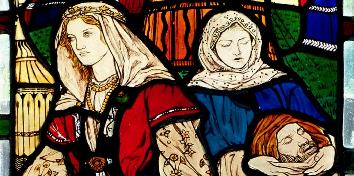 Judith & Holofernes detail