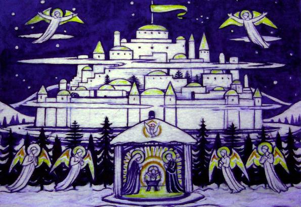 Bethlehem Christmas Card Classic-75