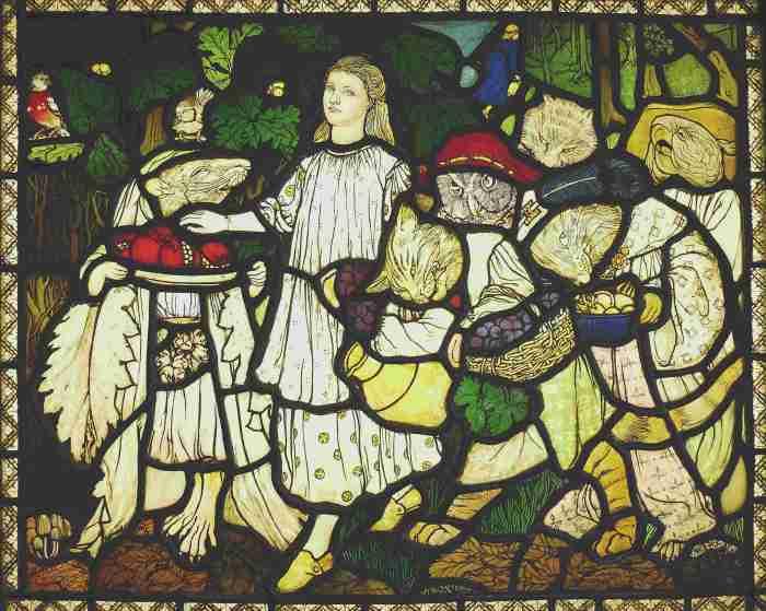 Goblin Market panel by Margaret Rope