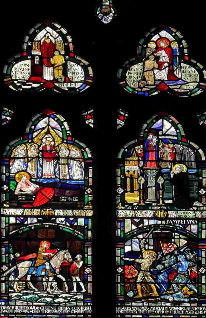 Soldier Window, Shrewsbury Cathedral