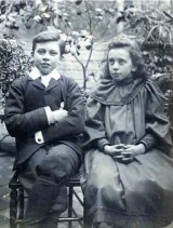 Henry and Margaret Agnes Rope as children