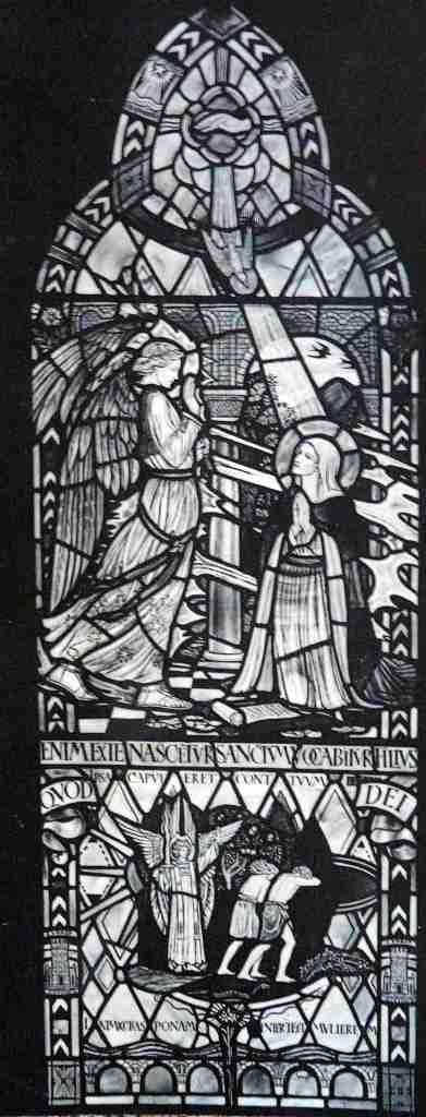 Annunciation cartoon Birkenhead